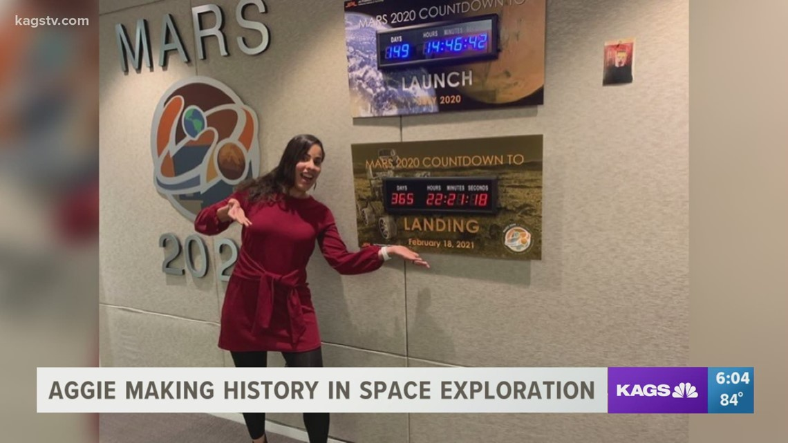 Texas A&M Ph.D. student contributes to NASA's Perseverance Rover landing