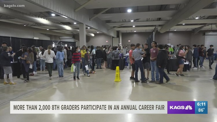 2021 Youth Career Fair brings in over 2,000 local 8th-grade students