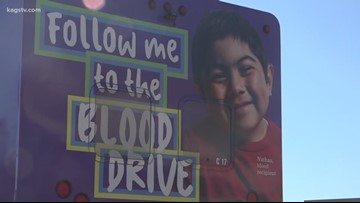 College Station High School students saving lives one drop at a time