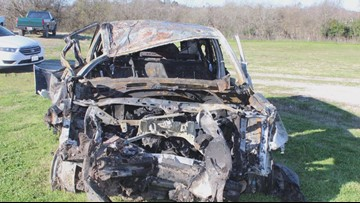 Grimes County Sheriff's deputy injured, man arrested following high-speed chase, crash