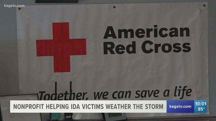 Local Red Cross chapter helping out those affected by Hurricane Ida