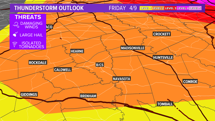 Another round of severe thunderstorms with mega-hail possible