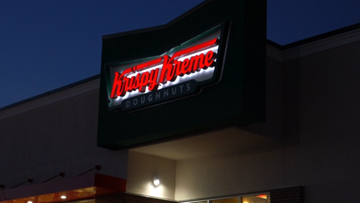 Locals camp out for Krispy Kreme grand opening