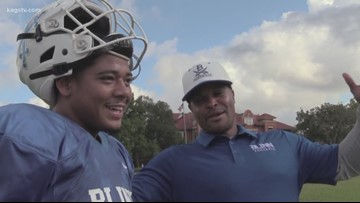 Former Oklahoma star Quentin Griffin brings unique perspective to Blinn coaching staff