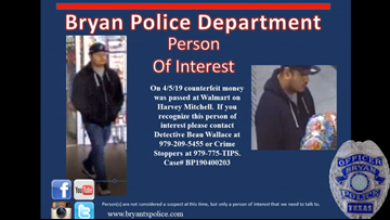 Bryan Police searching for man accused of fraud