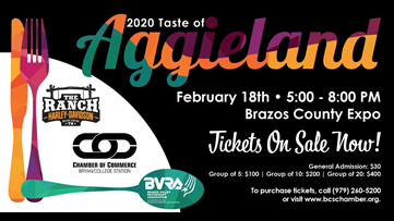 2020 Taste of Aggieland held at Brazos Expo Center