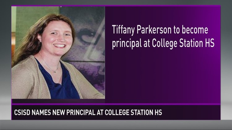 Tiffany Parkerson College Station HS Principal