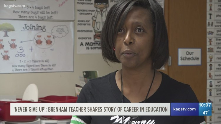 Celebrating Educators: How a Brenham teacher's journey inspires students to never give up