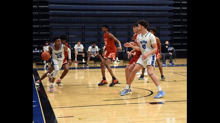 Three Blinn men's basketball players earn Region XIV honors