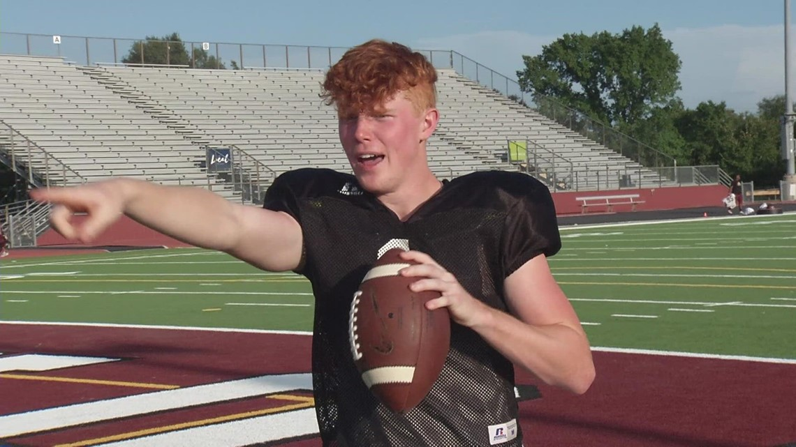 A&M Consolidated QB Brodie Daniel throws 7 TDs in first career varsity start