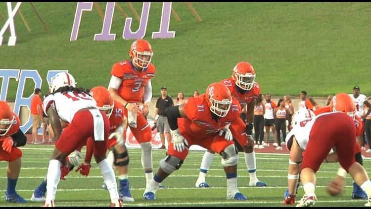 Sam Houston dominates Dave Campbell's Texas Football Magazine All-Texas Small College Team