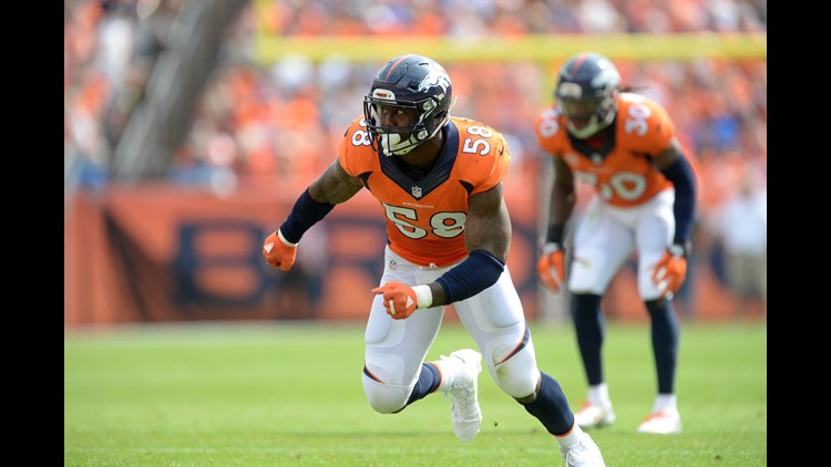 Former Aggie star Von Miller breaks Broncos' all-time sack leader