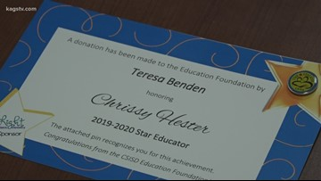 Foundation offers College Station ISD students opportunity to thank educators