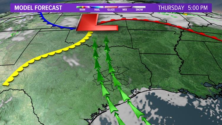 Thursday afternoon radar