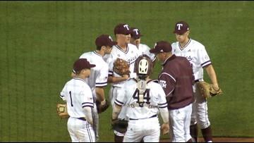 A&M baseball sees season end on roller coaster Sunday at Morgantown Regional