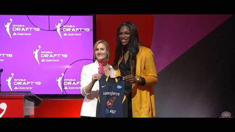 Brenham product Teaira McCowan drafted third overall by the Indiana Fever in the WNBA Draft