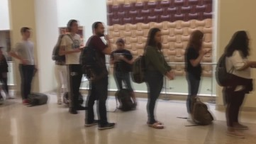 Fire alarms go off at MSC polling place on Texas A&M campus