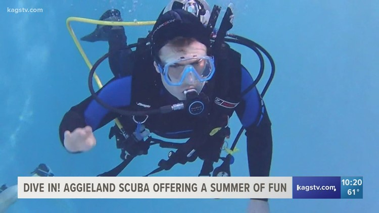 Dive in! Aggieland Scuba welcomes community to join them this summer