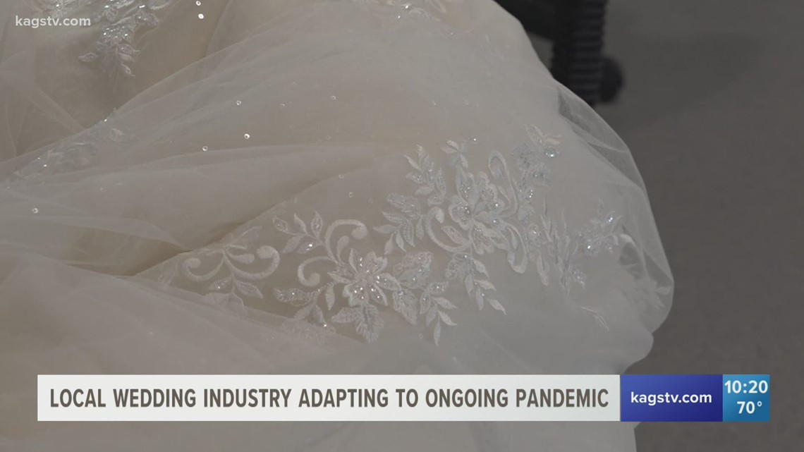 Wedding industry persists despite ongoing pandemic
