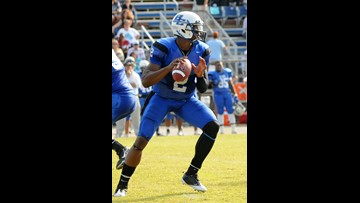 Former Blinn quarterback Cam Newton inducted into the NJCAA Football Hall of Fame