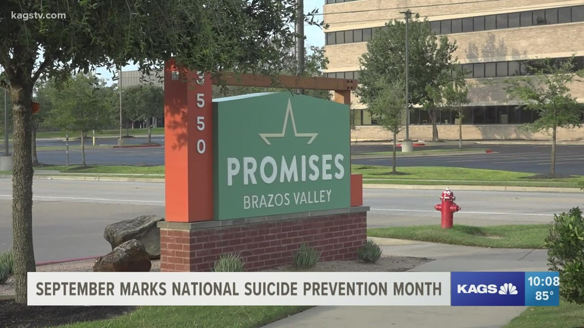 Brazos Valley organizations observe National Suicide Prevention Month
