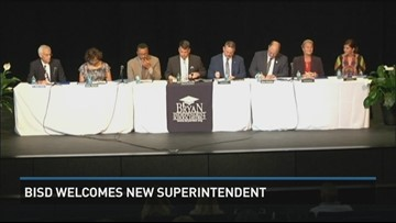 New Superintendent welcomed to Bryan ISD