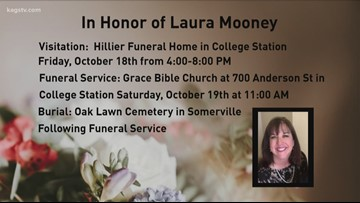 College Station community gathers to honor Laura Dean Mooney