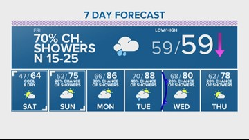 Brazos Valley Local Forecast
