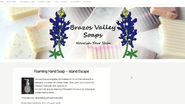 Support Local: Brazos Valley Soaps hopes to fill community need