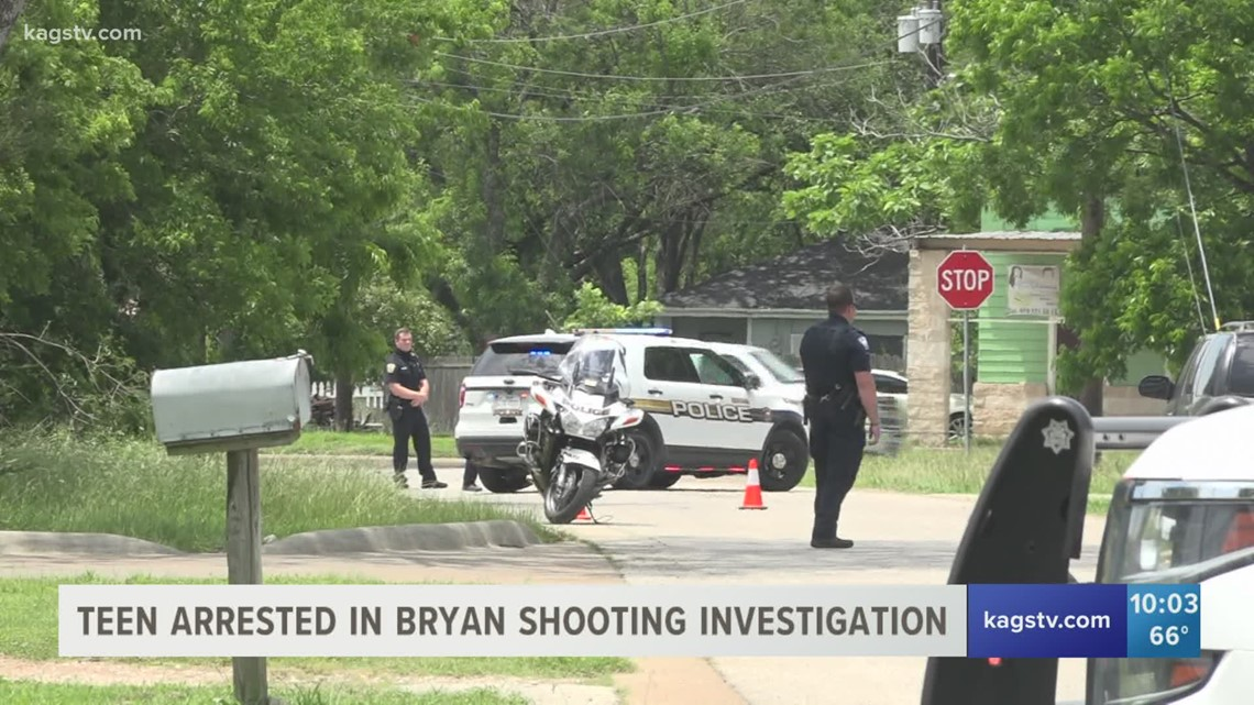 14-year-old charged in Bryan shooting