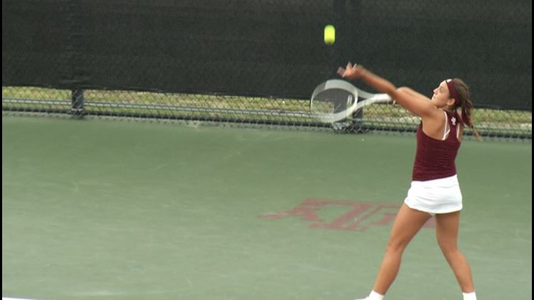 No. 20 Women's Tennis Prepares for Senior Day Against No. 24 Arkansas