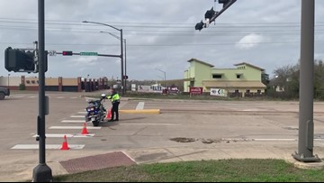 Crews on scene fixing College Station neighborhood gas leak