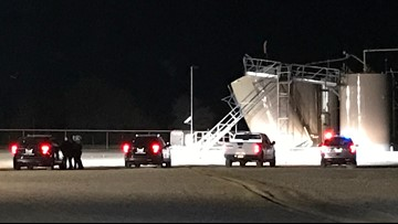 UPDATE: Tank ruptures on Chesapeake Energy wellsite in Brazos County