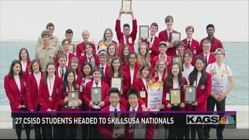 27 CSISD Students Qualify for National SkillsUSA