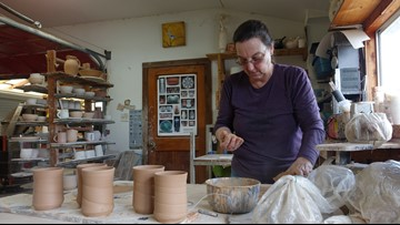 'So many pots to make and so little time': longtime potter travels the country sharing Christian testimony