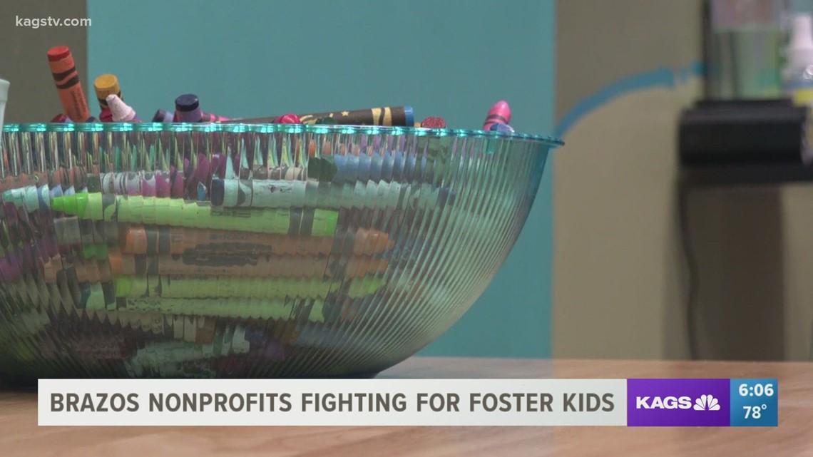 Brazos Valley organizations help foster kids