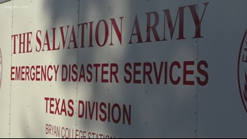 Salvation Army B/CS deploying to Winnie, TX
