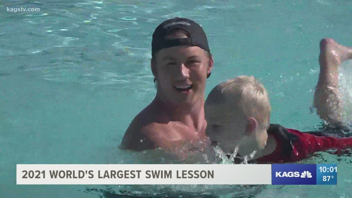 Just keep swimming: Bryan Aquatic Center teaches the importance of pool safety