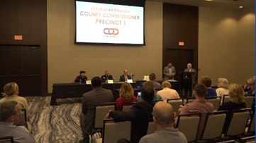 Local Candidate Forum held for state rep., commissioner, sheriff's seats