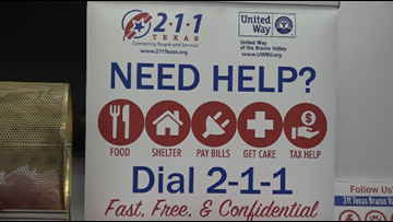 United Way of the Brazos Valley reminds locals of help line on 211 Day