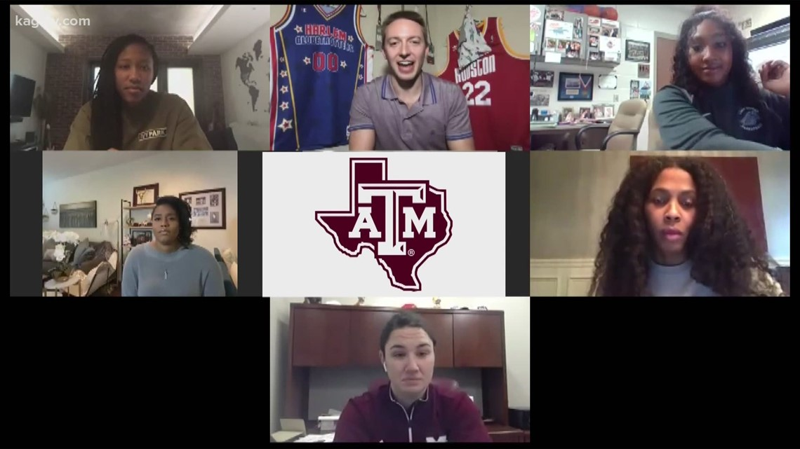 Members of Texas A&M's 2011 National Championship Women's Basketball Team Reminisce on Historic Run