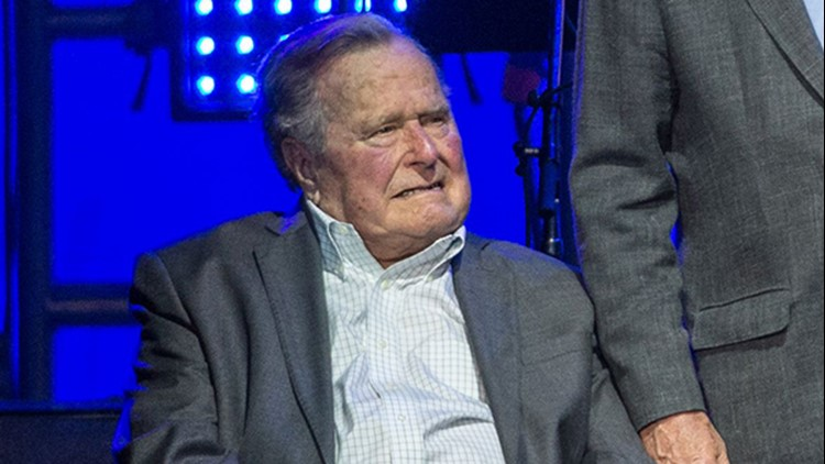 Former President George HW Bush to remain in hospital