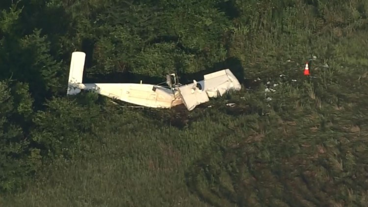 NTSB: Plane hit trees prior to crashing just short of runway in Madisonville, investigation ongoing
