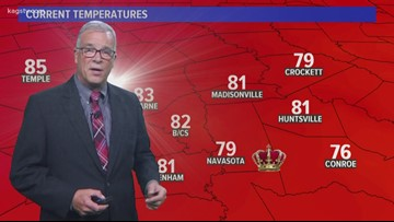 Bob's Wednesday Forecast September 25, 2019
