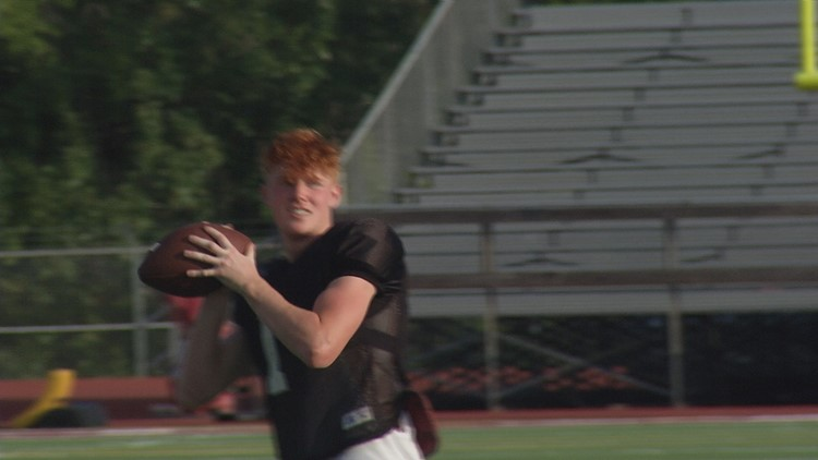A&M Consolidated QB Brodie Daniel Dazzles in Debut