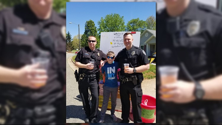 A Triad boy is making a difference in the community, one cup at a time.