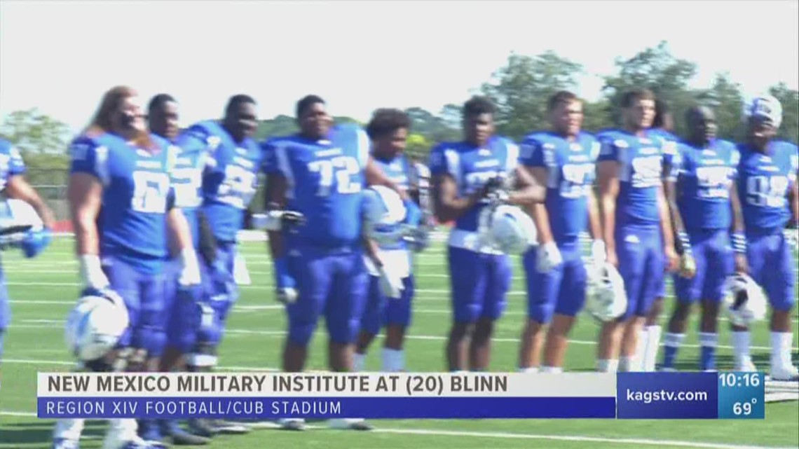 Blinn clinches playoff spot with 58-35 win