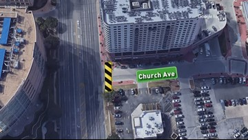 Church Avenue closed at University for construction
