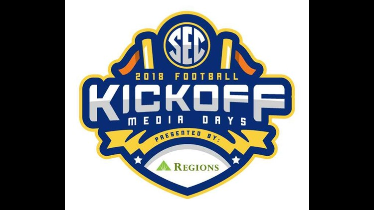 Coaches and players from all 14 SEC institutions will meet with more than 1,000 members of the media in the annual ceremonial kickoff to the football season.