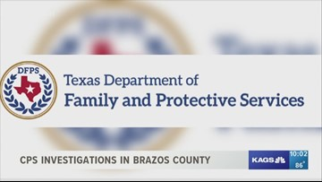 Data on CPS investigations in Brazos County | kagstv com